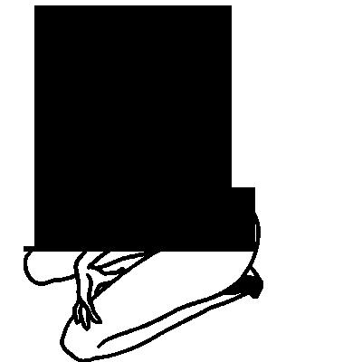 Sticker Femme nue Pulpeuse