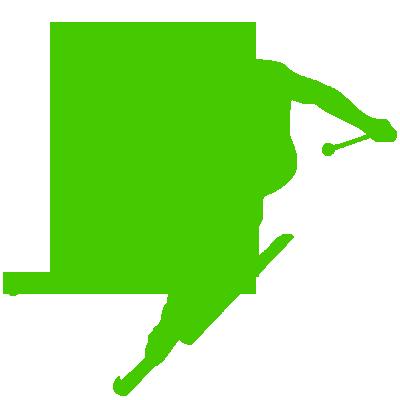 Sticker Skieur